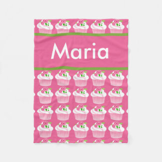 Maria's Personalized Cupcake Blanket