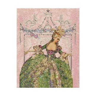 Marie Antoiette CHANGE COLOR ~ Wrapped Canvas Canvas Prints