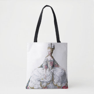 Marie Antoinette (1752-93) from 'Receuil des Estam Tote Bag
