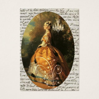 Marie Antoinette ACEO Business Card