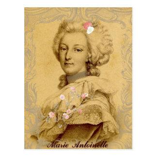 Marie Antoinette Altered Art Illustration Postcard