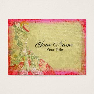 Marie Antoinette Antique Business Card