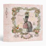 Marie Antoinette Black Poodle Binder Album