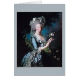 Marie Antoinette by Elisabeth Vigee-Lebrun Card