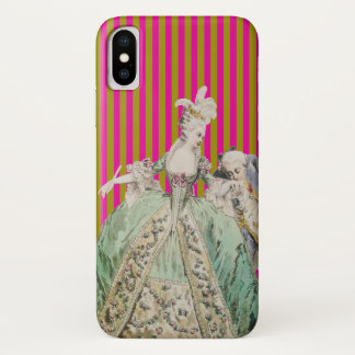 Marie Antoinette CHANGE COLOR (More Options) - iPhone X Case