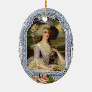 Marie Antoinette Christmas Ornament Gift