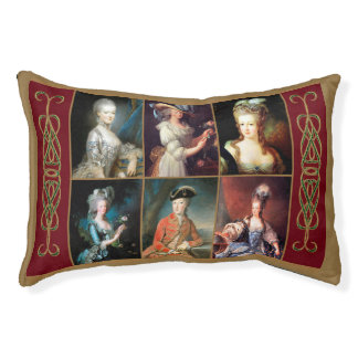 Marie Antoinette Collage Dog Bed
