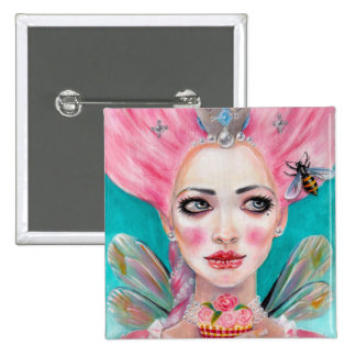 Marie Antoinette Cupcake Faerie - Queen Bee Buttons