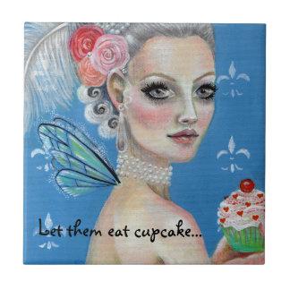 Marie Antoinette Cupcake Queen Tile