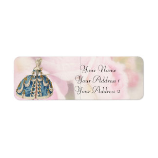 Marie Antoinette Custom Avery Address Labels