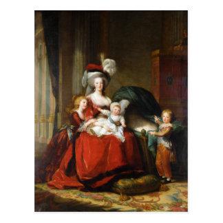 Marie-Antoinette de Lorraine-Habsbourg Postcard