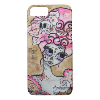 Marie Antoinette, Dia de los Muertos iPhone 7 Case