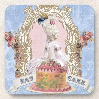 Marie Antoinette-Eat Cake...cork coasters