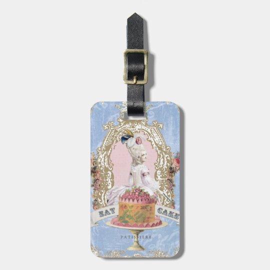 Marie Antoinette-Eat Cake...luggage tag