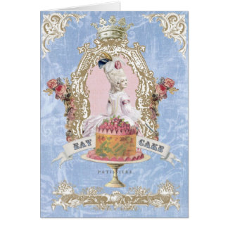 Marie Antoinette-Eat Cake...notecard Card