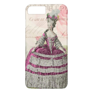 Marie Antoinette French Accent iPhone 4 Case