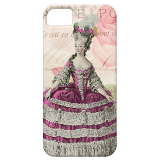 Marie Antoinette French Accent iPhone 5/5S Case
