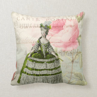 Marie Antoinette French Accent Throw Pillow