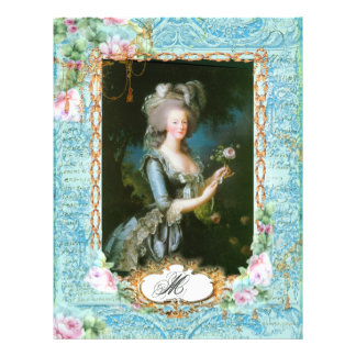 Marie Antoinette French Stationery and Cards Personalized Flyer