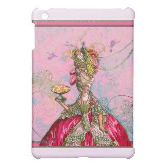 Marie Antoinette Hot Pink Peacock iPad Mini Covers