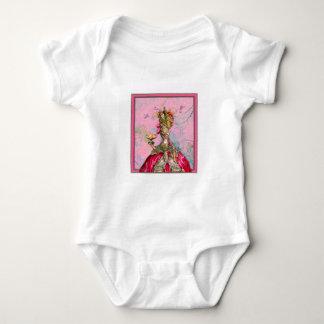 Marie Antoinette Hot Pink & Peacock Tee Shirt