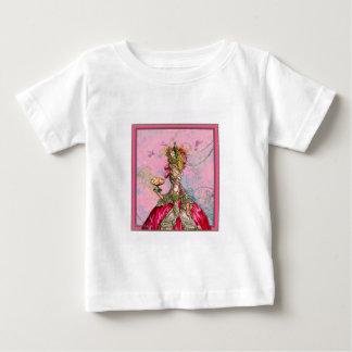 Marie Antoinette Hot Pink & Peacock Tshirts