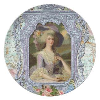 Marie Antoinette in Lavender Plate