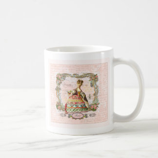 Marie Antoinette in Pink Classic White Coffee Mug