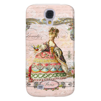 Marie Antoinette in Pink Samsung Galaxy S4 Cover