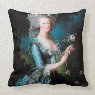 Marie Antoinette in the Garden Cushion Pillow