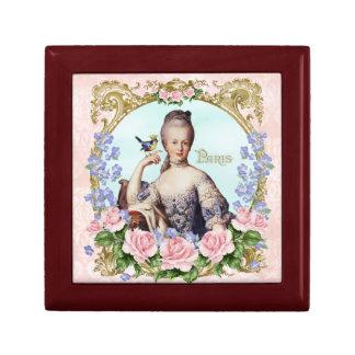 Marie Antoinette Jewelery Box Pink Damask Antonia