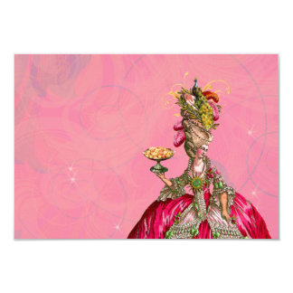 Marie Antoinette Let Them Eat Cake Card