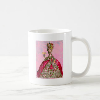 Marie Antoinette Let Them Eat Cake Classic White Coffee Mug