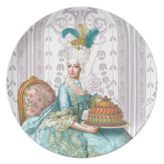 Marie Antoinette Let them eat Cake Dinner Plate
