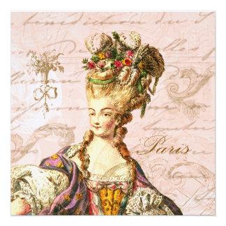 Marie Antoinette Let them Eat Cake Invite
