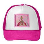 Marie Antoinette Let them eat cake & Peacock Mesh Hats