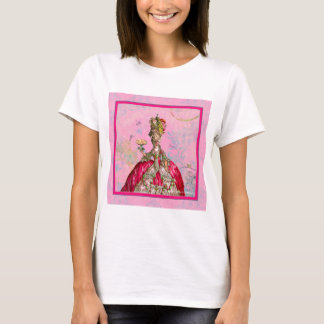 Marie Antoinette Let them eat cake & Peacock T-Shirt