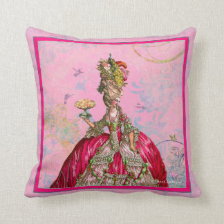 Marie Antoinette Let Them Eat Cake Pillows