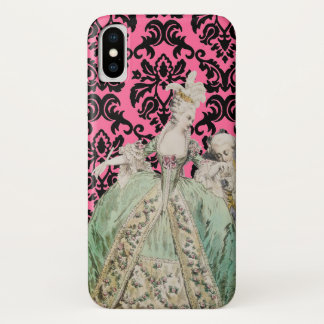 Marie Antoinette (More Options) - iPhone X Case