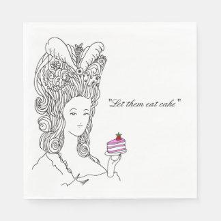 Marie Antoinette Napkin