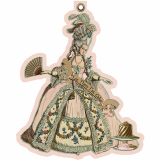 MARIE ANTOINETTE PASTILLE ORNAMENT PHOTO SCULPTURE ORNAMENT