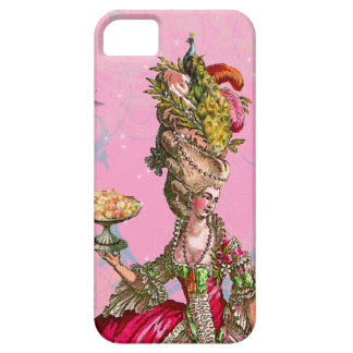 Marie Antoinette & Peacock iPhone 5 Cases