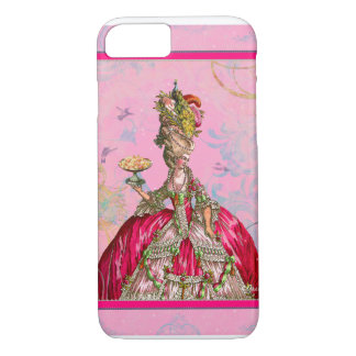 Marie Antoinette & Peacock iPhone 7 Case
