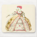Marie Antoinette Poodle Fashion Plate Stationery