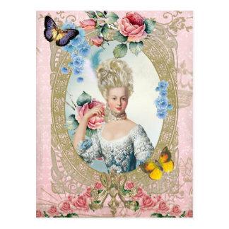 Marie Antoinette Portrait Postcard Versailles