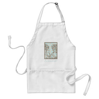 "Marie Antoinette ""Postage Stamp"" Apron"