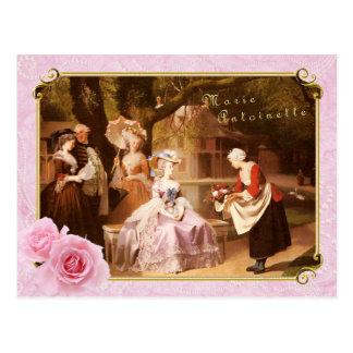 Marie Antoinette  Postcard  Reception