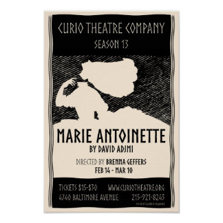 MARIE ANTOINETTE poster by Elizabeth Gallagher