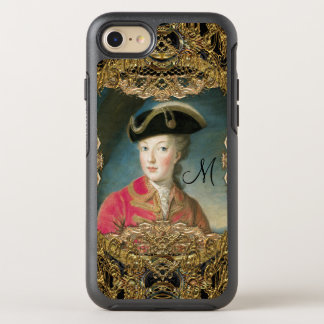 Marie Antoinette  Pretty Youth Monogram OtterBox Symmetry iPhone 7 Case