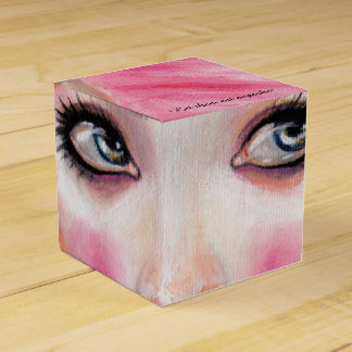 Marie Antoinette Queen Bee - let them eat cupcake Favor Box